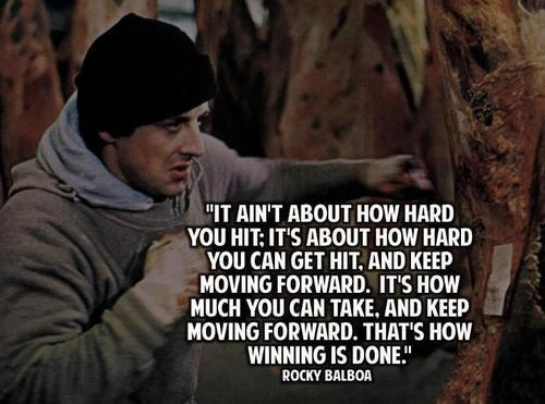 It's Not About How Hard You Can Hit...